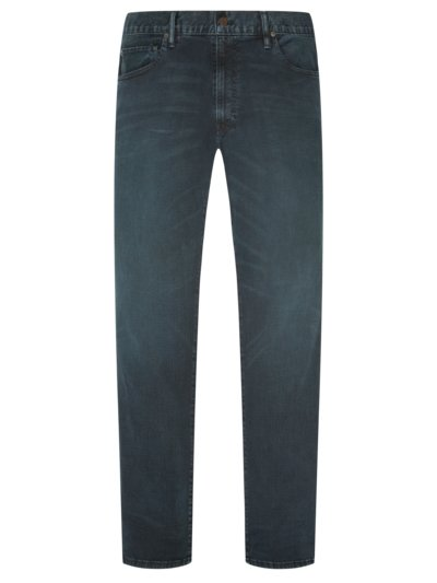 Designer-Used-Jeans ,Hampton Straight' mit Stretchanteil in BLAU