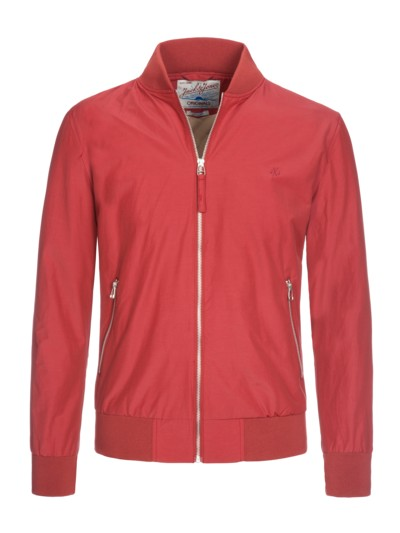 Freizeitjacke in Blouson-Form in ROT