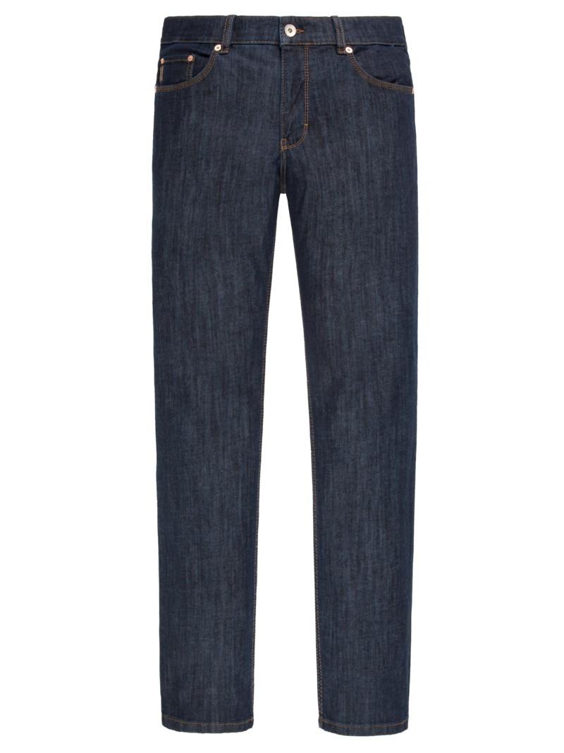 Übergröße: Brax, Trendige Denim-Jeans mit Stretchanteil in Blau für Herren