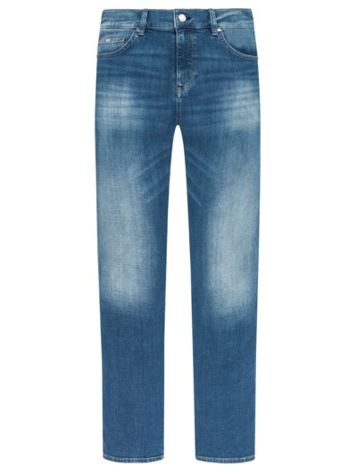 Jeans, Regular Fit, 5-Pocket in BLAU