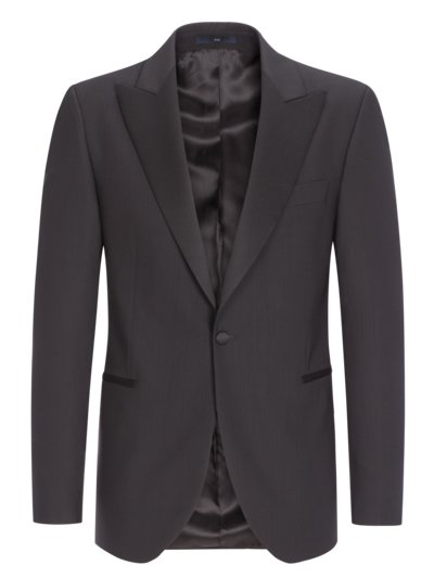 Smoking-Jacke, Evan, Shaped Fit in SCHWARZ