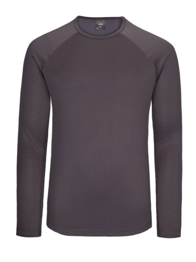 Lightweight functional shirt, long sleeve v ANTHRACITE