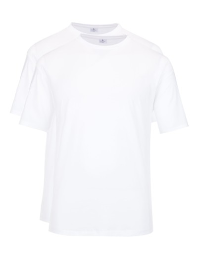 ,Doppelpack' T-Shirts in WEISS