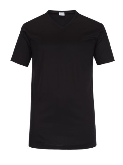 Undershirt, V-neck v BLACK
