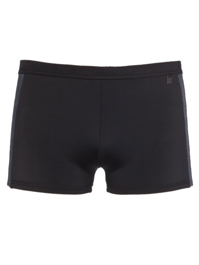 Retro swimming trunks v BLACK