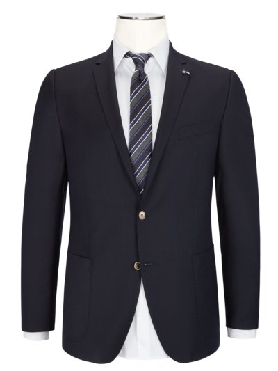Stylish structured blazer v MARINE