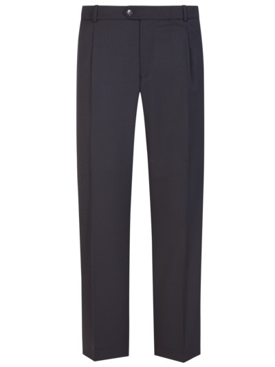 'Travel Edition' business pants, machine-washable v MARINE