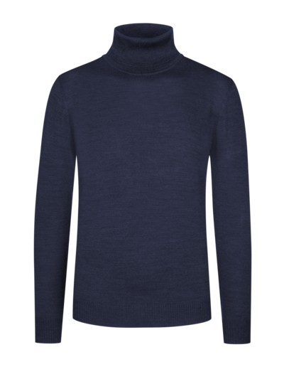 Turtleneck sweater v MARINE
