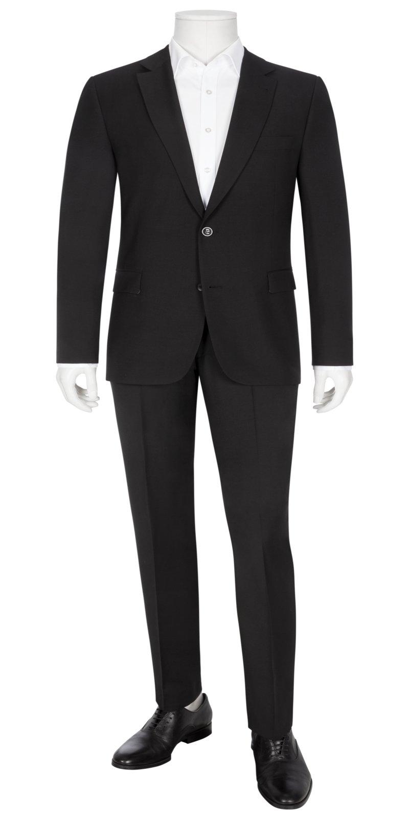 Tom Rusborg Modischer Anzug für Business und Anlass MARINE in Übergröße ce3310a364