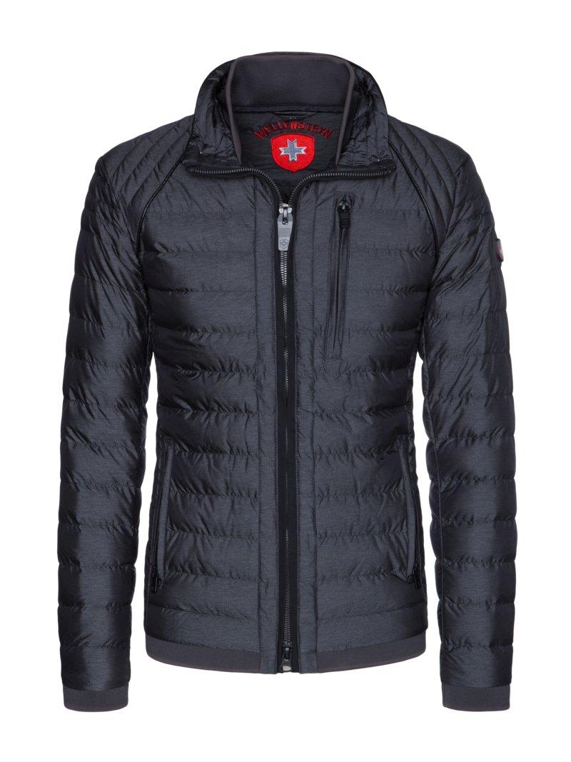 Wellensteyn Wind and water repellent quilted jacket 'Molecule Men', marine