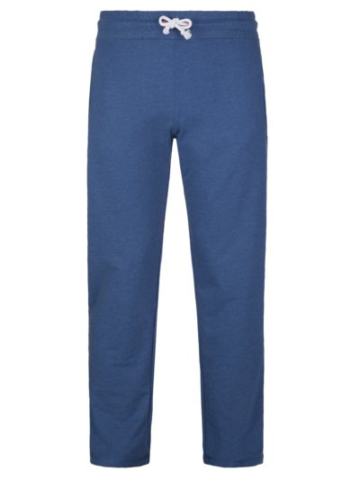 Sweatpants with back pocket v BLUE