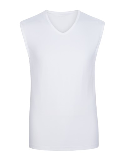 Funktionelles Tank-Shirt ,Dry Cotton' in WEISS