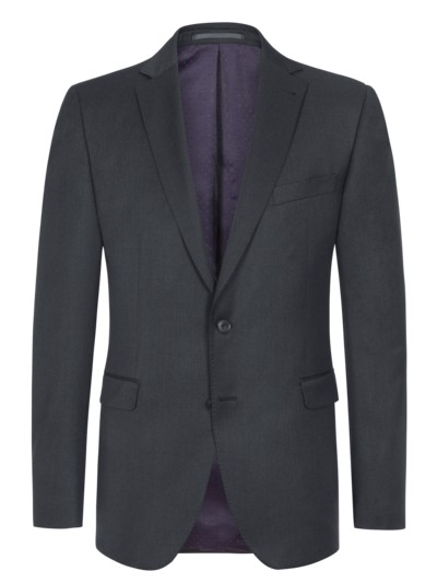 Timeless sport coat (mix & match suit separates) made of 'Super-110 virgin wool cloth' v ANTHRACITE
