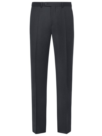 Formal pants (mix & match suit separates) in a lightweight virgin wool quality v ANTHRACITE