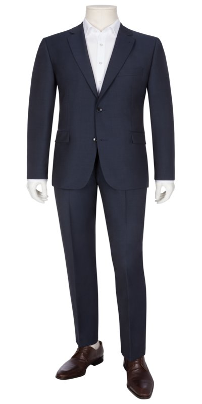 Fashionable suit for business and special events v MARINE
