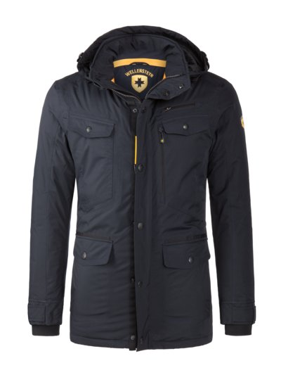 Funktionsjacke ,Chester Winter' in MARINE