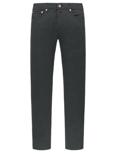 Leichte Baumwollstretch-Jeans ,Forever Young' in ANTHRAZIT