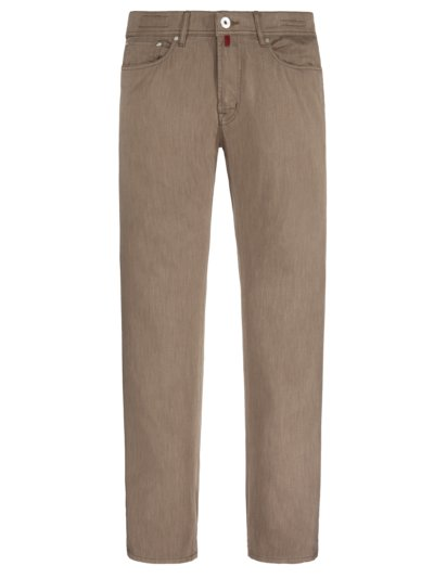 Leichte Baumwollstretch-Jeans ,Forever Young' in BEIGE