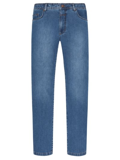 'EUREX' denim jeans v BLUE