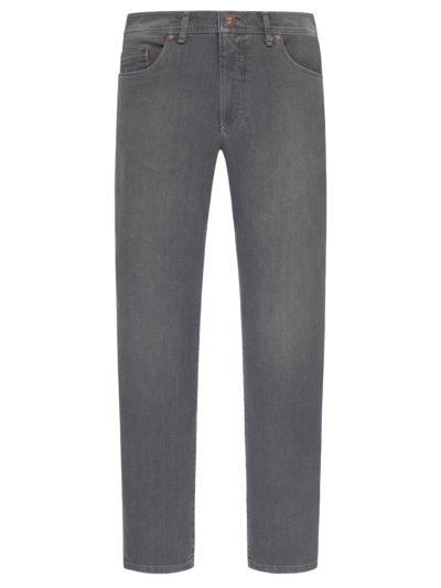 Denim-Jeans mit Stretch in GRAU