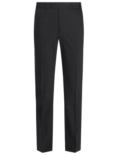Formal pants in a wool blend v ANTHRACITE