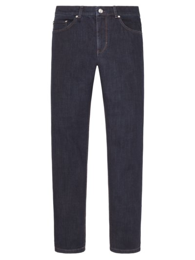 Jeans mit Stretchanteil, Cooper Denim in MARINE