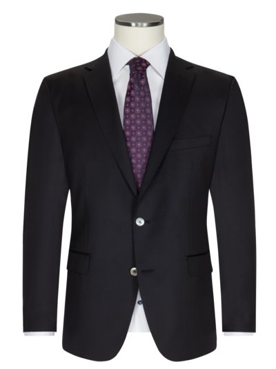 Lightweight, virgin wool sport coat v MARINE