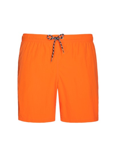 Nylon-Badeshorts in ORANGE