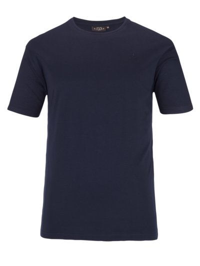Basic-T-Shirt in SCHWARZ