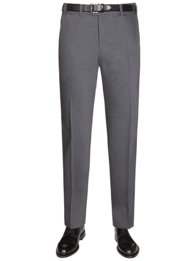 Virgin wool blend business pants, Jan 317 v GREY