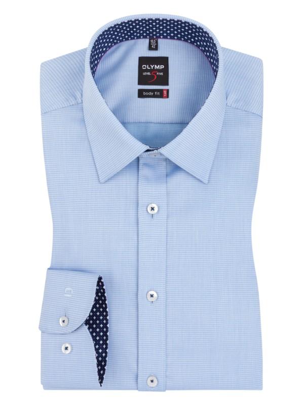 OLYMP Business košile Level Five body fit 59df311eca