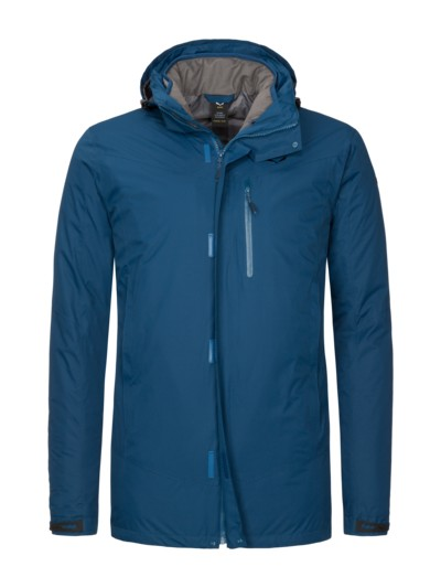2in1 Funktionsjacke, ZipIn Funktion in BLAU