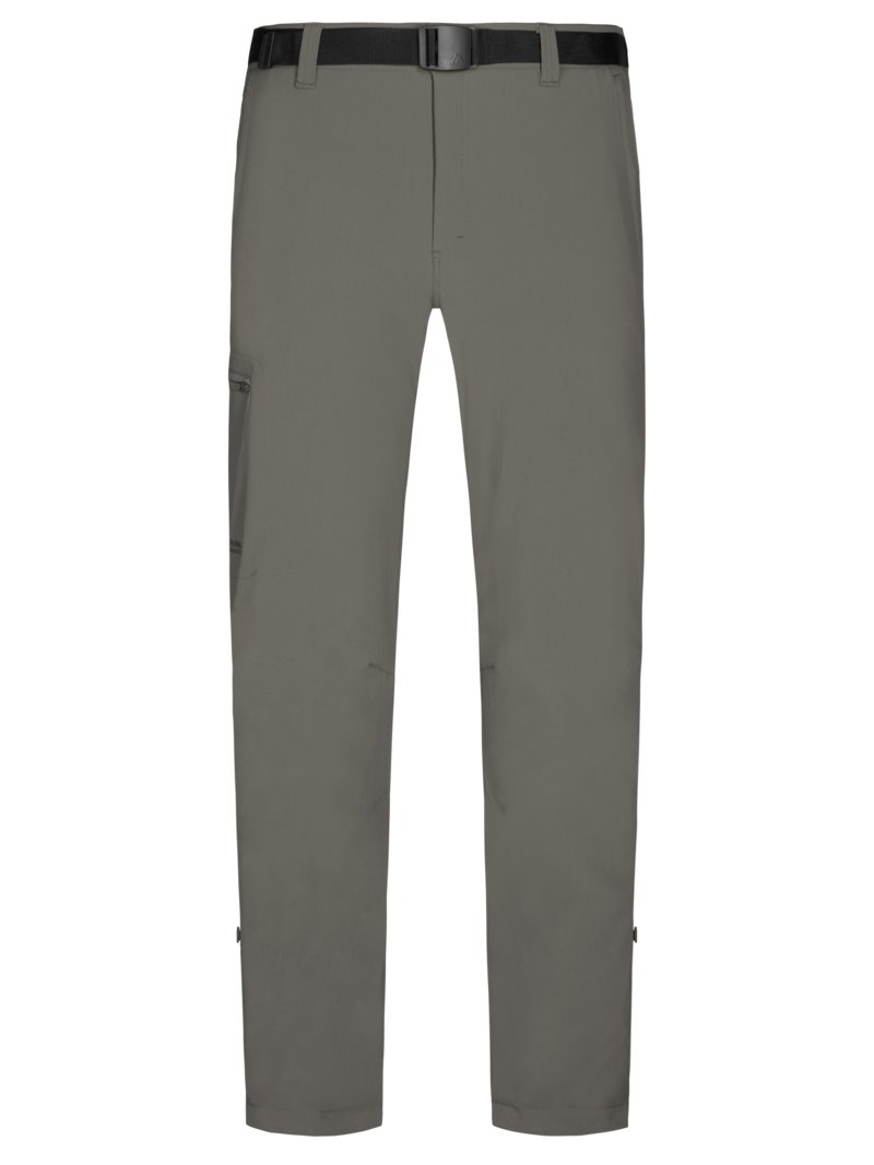 Maier Sports Trekking pants with stretch content KHAKI in plus size