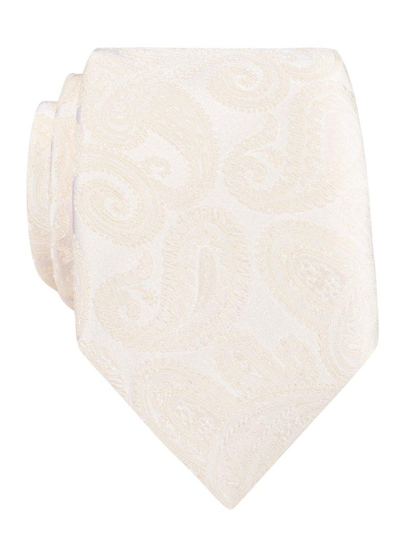 Übergröße: Ascot, Krawatte mit Paisley-Muster i...