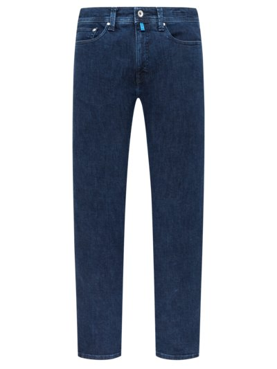 Washed look denim jeans, Futureflex v BLUE