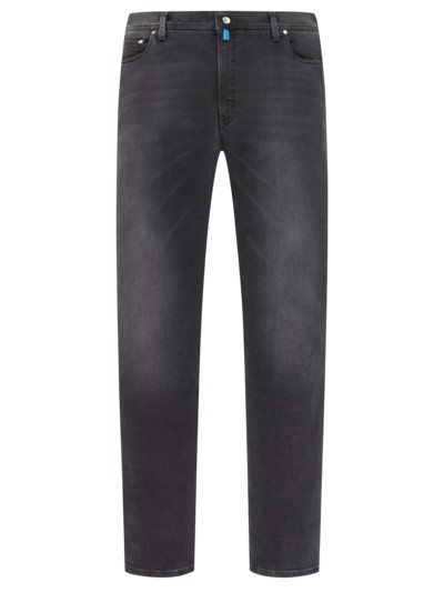 Denim-Jeans im Washed-Look, Futureflex in SCHWARZ