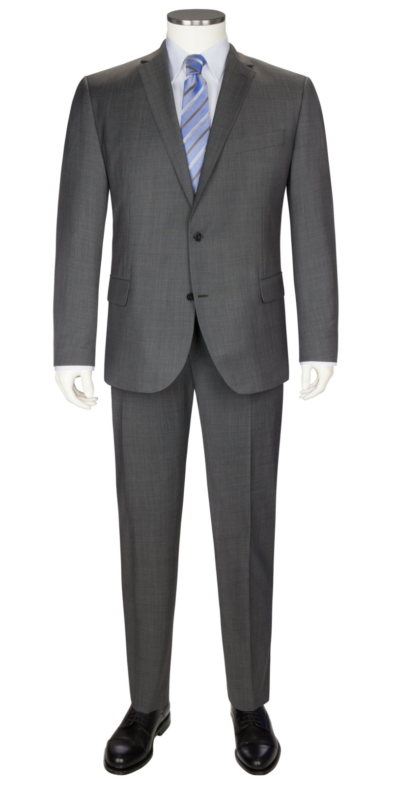 Pierre Cardin Virgin wool blend mix & match suit BLUE in plus size