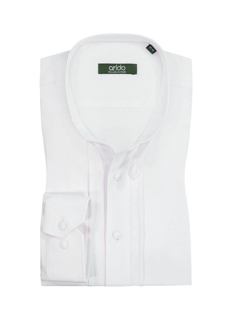 Übergröße: Arido, Trachtenhemd mit Stehkragen i...