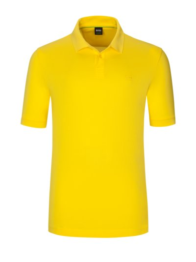 100% pima cotton polo shirt v YELLOW