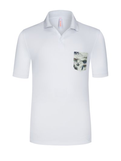 Polo shirt v WHITE