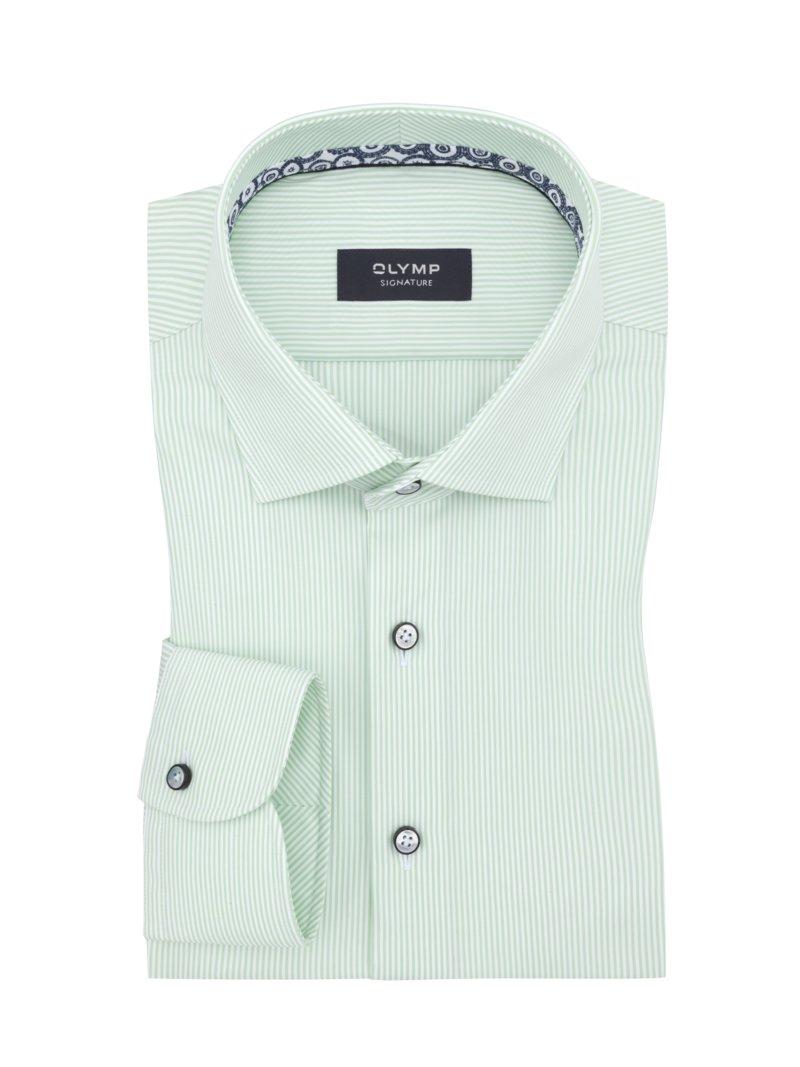 quality design 88693 4abc2 Olymp - Signature comfort fit Hemd, gestreift, gruen