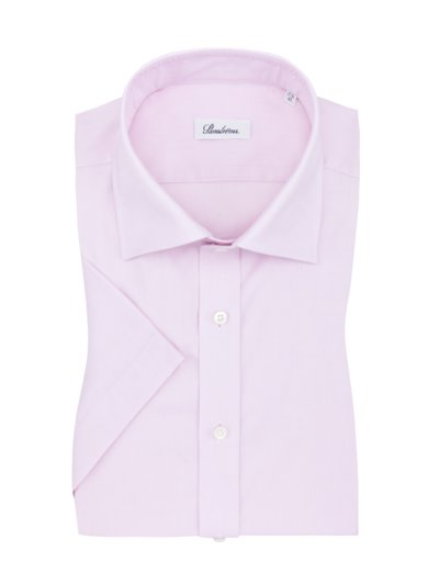 Kurzarmhemd, Twofold-Cotton in ROSE