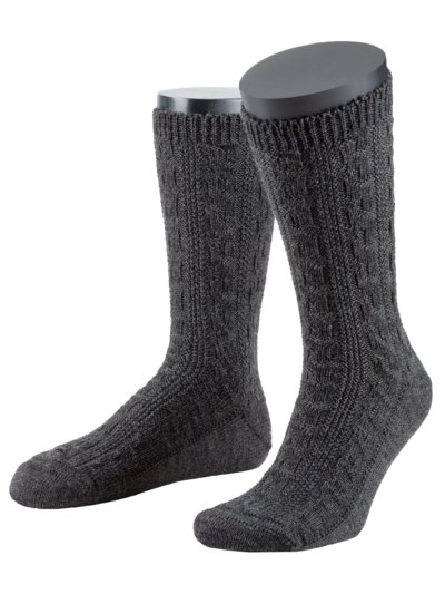 Traditional socks v ANTHRACITE