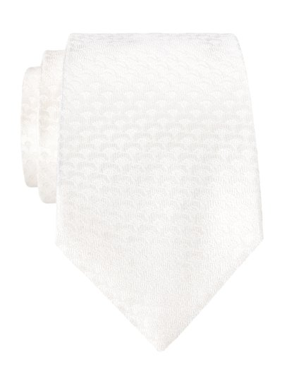 Tie with a stylish pattern v OFF WHITE