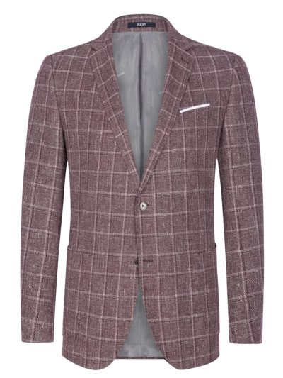 Linen blend sport coat v BROWN