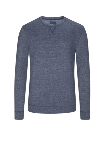 Jogging-Sweatshirt in BLAU