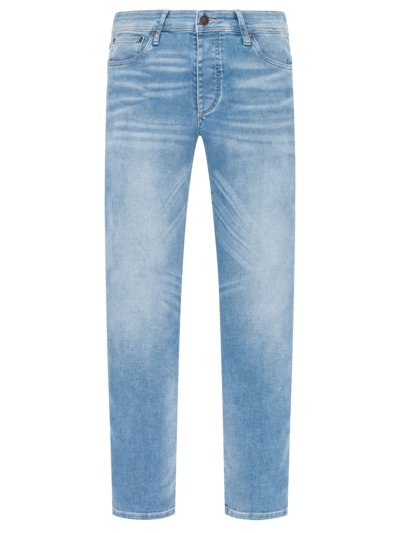 Jeans im Used-Look, Glenn in HELLBLAU