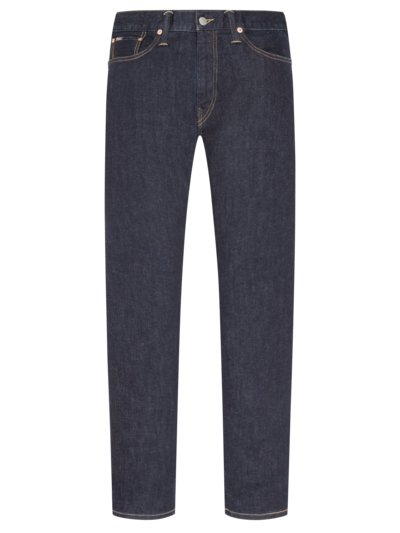 Jeans im Washed-Look, Hampton Straight in BLAU