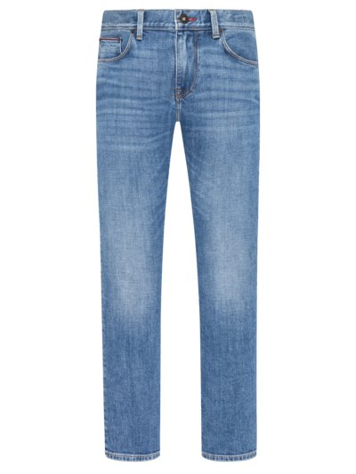 Jeans im Washed-Look, Denton Stretch in BLAU