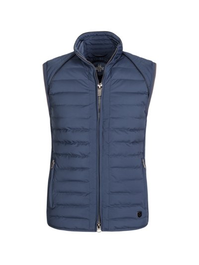 Gilet, wind and water repellent v BLUE